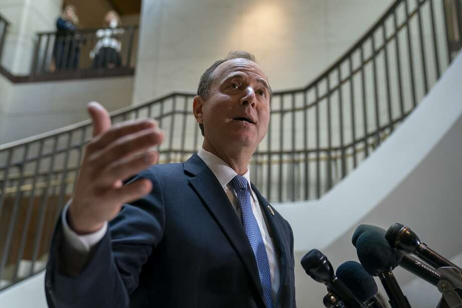 Rep. Adam Schiff says he would go to court to force the administration to turn over the information in the complaint. Photo: J. Scott Applewhite / Associated Press