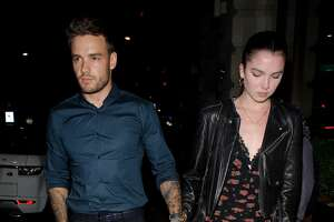 LONDON, ENGLAND - AUGUST 30: Liam Payne walking hand in hand with mystery girl in Mayfair on August 30, 2019 in London, England. (Photo by GORC/GC Images)