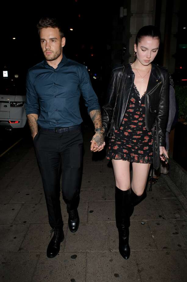 Liam Payne walking hand in hand with Maya Henry in Mayfair on August 30, 2019 in London, England. (Photo by GORC/GC Images) Photo: Getty Images  / 2019 GORC