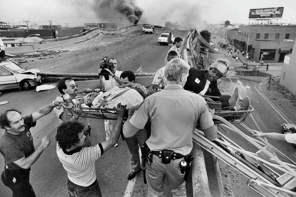 The 1989 Loma Prieta earthquake rocks the Bay Area.
