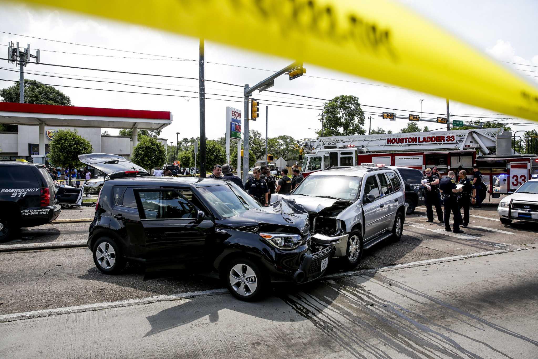 How to handle a Houston car crash