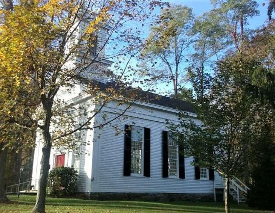 Ridgebury Congregational Church in northern Ridgefield. Photo: Contributed Photo