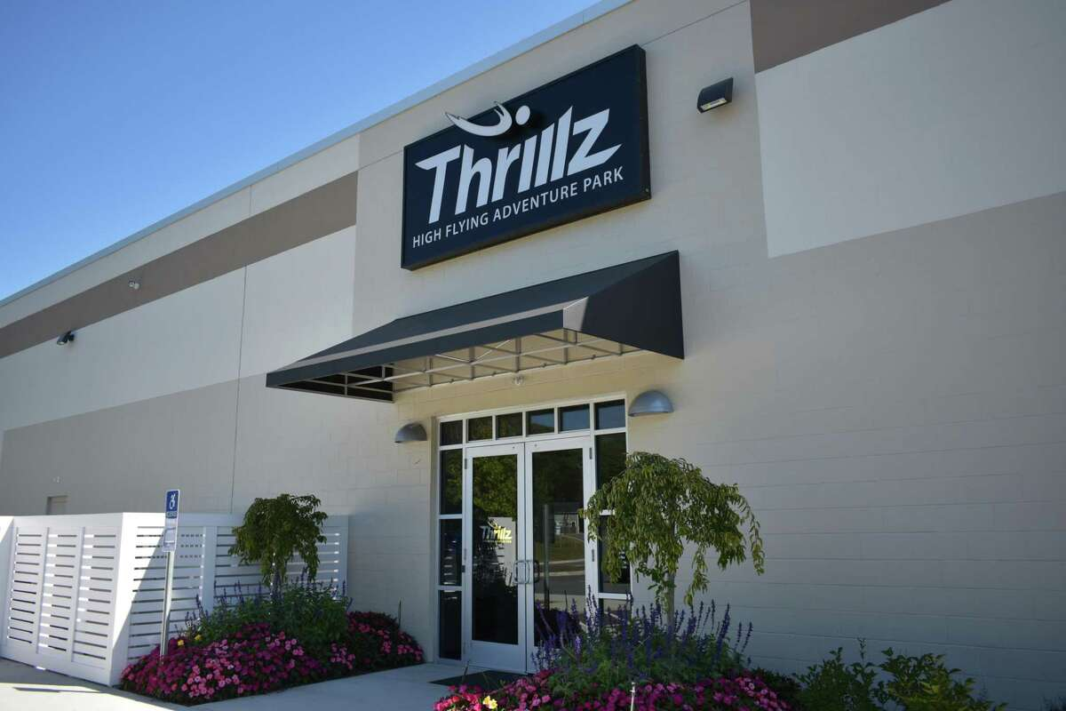 The Thrillz obstacle course and entertainment center at 5 Prindle Lane in Danbury.