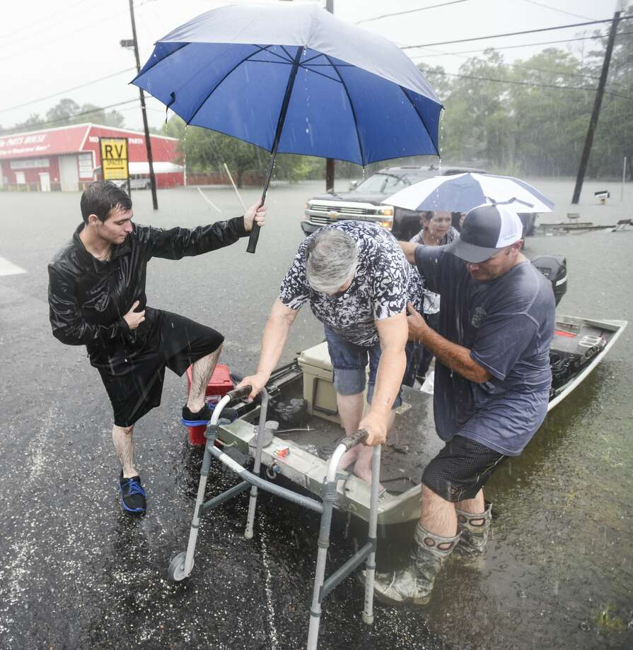 The effects of tropical depression Imelda on Southeast Texas Thursday. Photo taken on Thursday, 09/19/19. Ryan Welch/The Enterprise Photo: Ryan Welch/The Enterprise