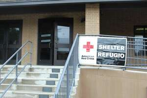 Sts. Simon & Jude Catholic Parish in The Woodlands had more than 50 evacuees from communities in eastern Montgomery County as of 2:30 p.m. Thursday, Sept. 19. The center can hold up to 150 evacuees and some pets. The shelter at Sts. Simon & Jude Catholic Parish is located at 26777 Glen Loch Road, The Village of Panther Creek, in The Woodlands. It is open 24-hours and can host 150 evacuees.