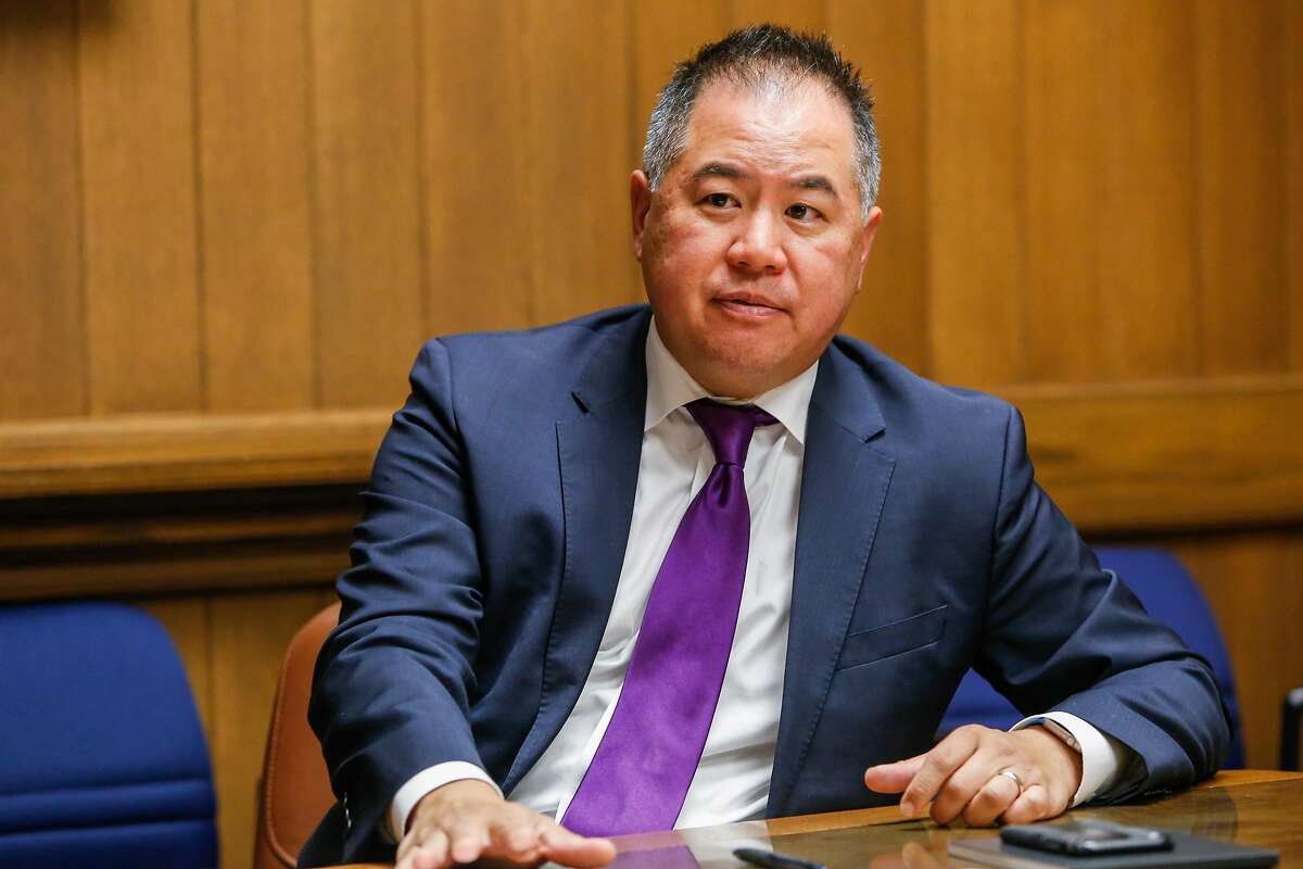 California Assembly Member Phil Ting (AD-19) speaks to the Chronicle Editorial Board on Friday, Aug. 18, 2017 in San Francisco, Calif.