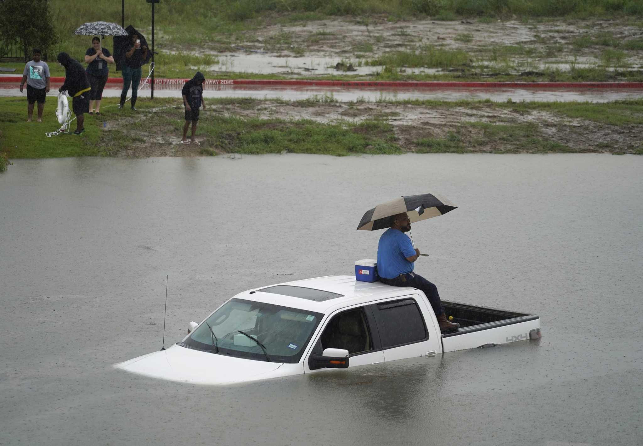 Flash Flood Emergency For Parts Of Harris County As Imelda