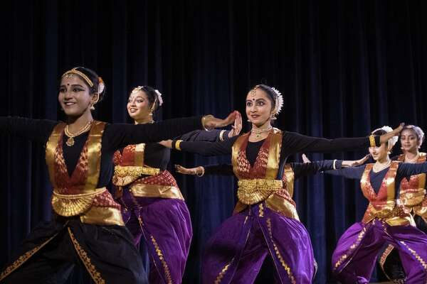 Natya Mandala will perform one of the oldest forms of traditional Indian classical dance, known as Bharatanatyam, at 5 p.m. Friday on the Guilford Green.
