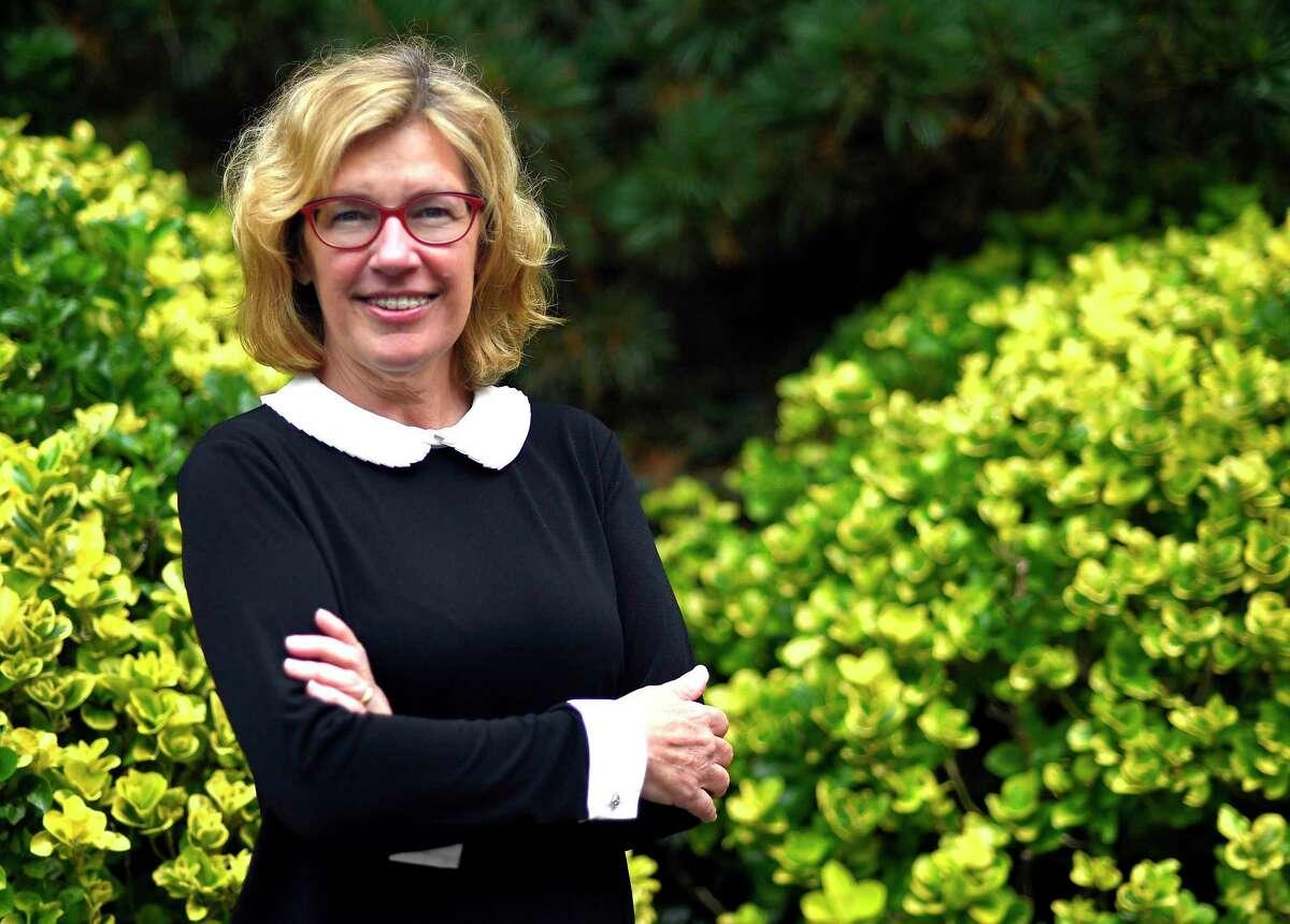 Lauren Rabin was recently elected to the Greenwich Board of Selectmen.