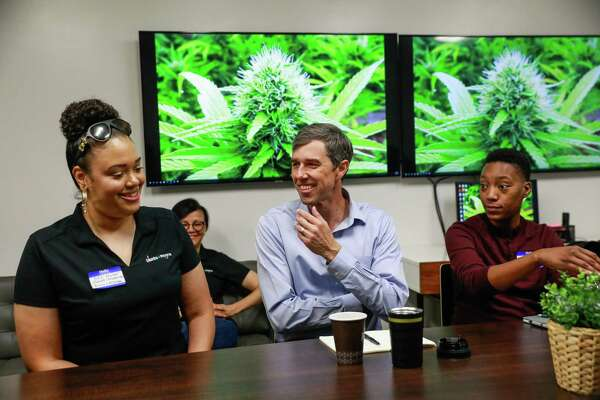 Weed dispensary, San Quentin, Skid Row: Beto is going where other Dems won't