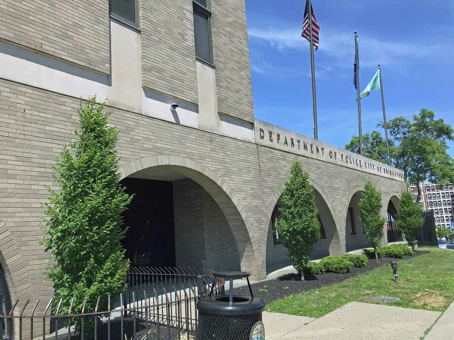 Hearst Connecticut Media file photo of the Bridgeport, Conn., police station at 300 Congress St. Photo: Tara O'Neill / Hearst Connecticut Media / Connecticut Post
