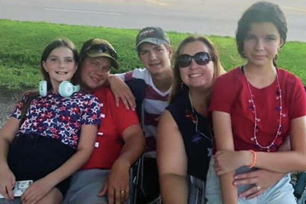 The Boyer family, of Edwardsville, Illinois