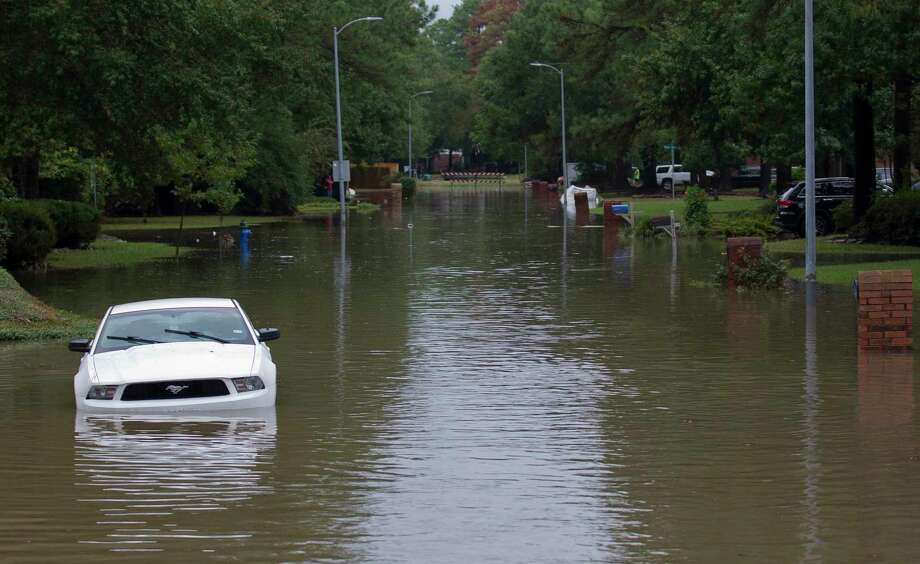 PHOTOS: Tropical Storm Imelda soaks southeast TexasHomes in the Elm Grove subdivision are seen, Thursday, Sept. 19, 2019, in Kingwood.>>>See more photos of Tropical Storm Imelda across Houston... Photo: Jason Fochtman, Houston Chronicle / Staff Photographer / Houston Chronicle