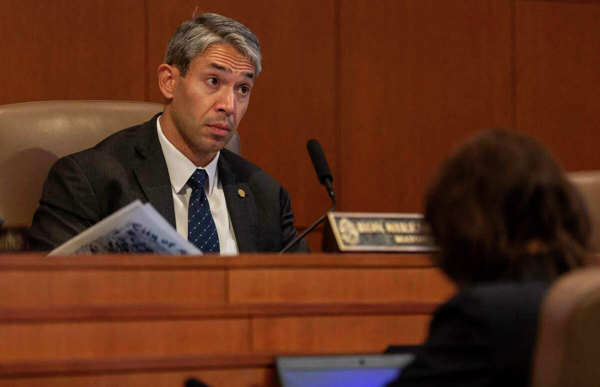 San Antonio Mayor Ron Nirenberg listens during a City Council meeting Thursday, Sept. 19, 2019. Nirenberg chided two Republican lawmakers including Texas House Speaker Dennis Bonnen for remarks disparaging cities and counties made during a private meeting with a conservative activist.