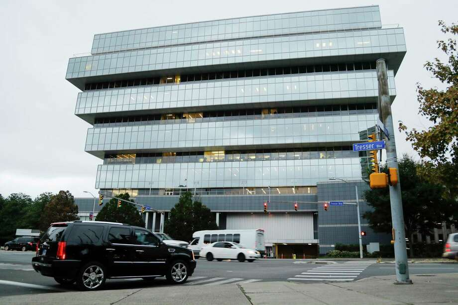 Purdue Pharma is headquartered at 201 Tresser Blvd., in downtown Stamford, Conn. Photo: Frank Franklin II / Associated Press / Copyright 2019 The Associated Press. All rights reserved.
