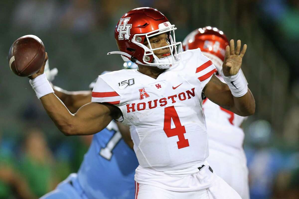 D'Eriq King, senior The senior from Manvel High School completed 58 of his 110 pass attempts for 663 yards with six touchdowns and two interceptions this season. King was named preseason first team American Athletic Conference quarterback by Athlon Sports.
