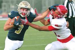 Alexander running back Camilo Pedraza ran for 154 yards and three scores in the Bulldogs' win Thursday.