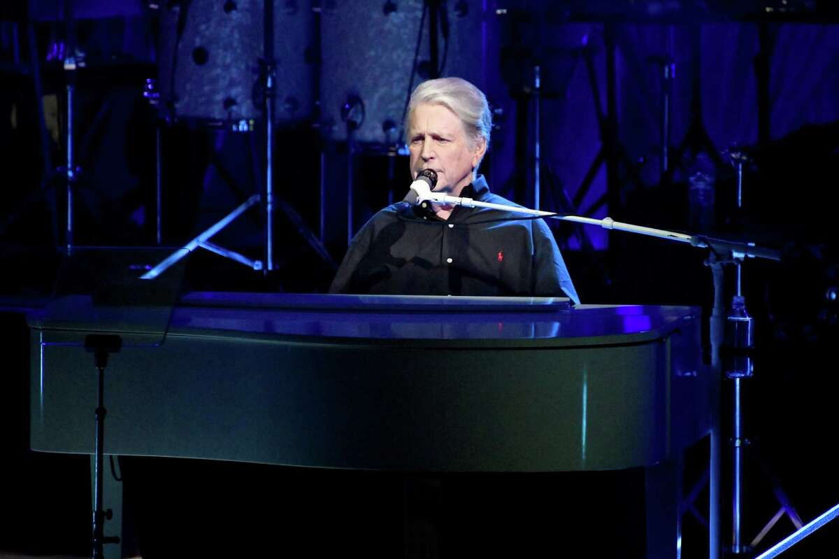 Brian Wilson at the piano recently in Los Angeles.