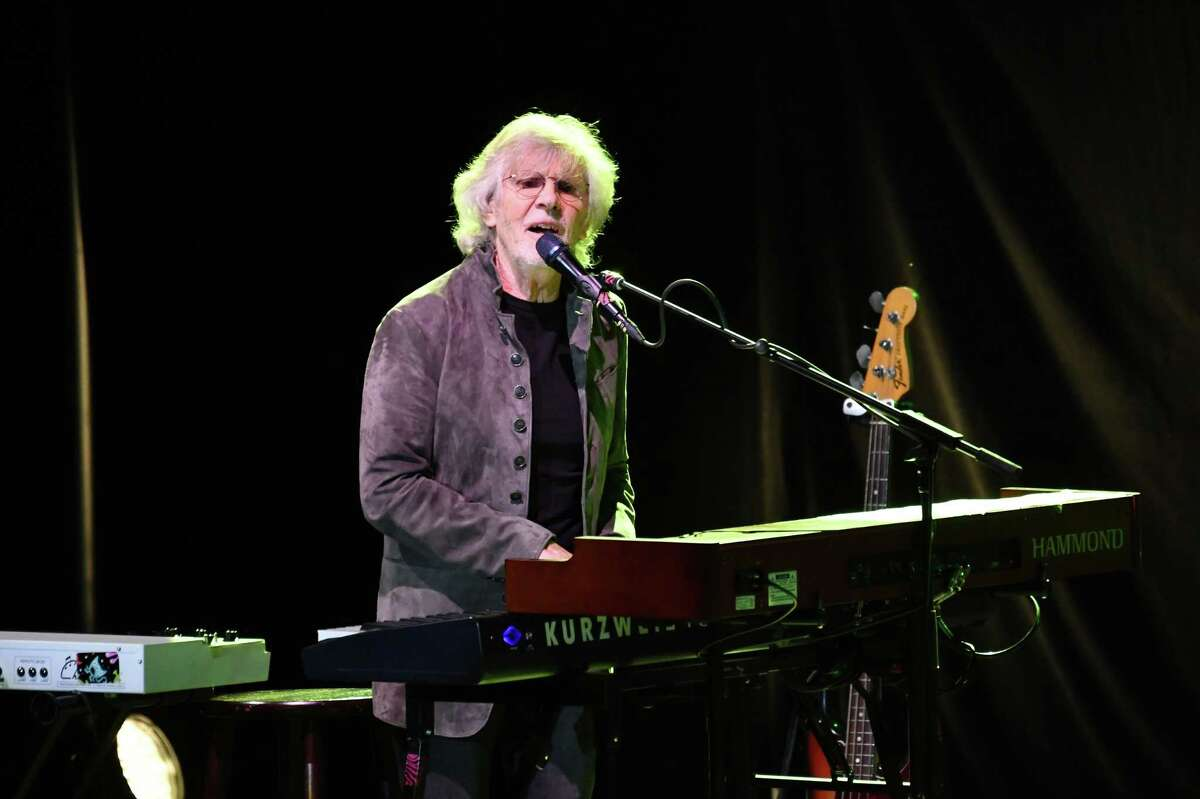 Rock and Roll Hall of Fame inductee Rod Argent, founding member of The Zombies, performs recently in Los Angeles.