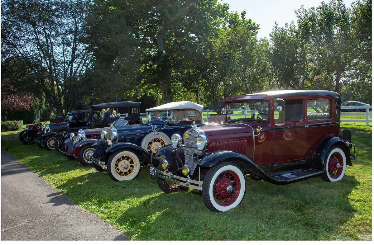 Bishop Wicke Health & Rehab Center hosted a special classic car display during the Wesley Village's 50th anniversary celebration Sunday, Sept. 15.