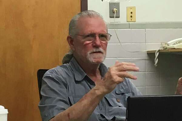 East Haven Inland Wetlands Commission Chairman Gerald Jaffe at the commission's Sept. 11, 2019, meeting.