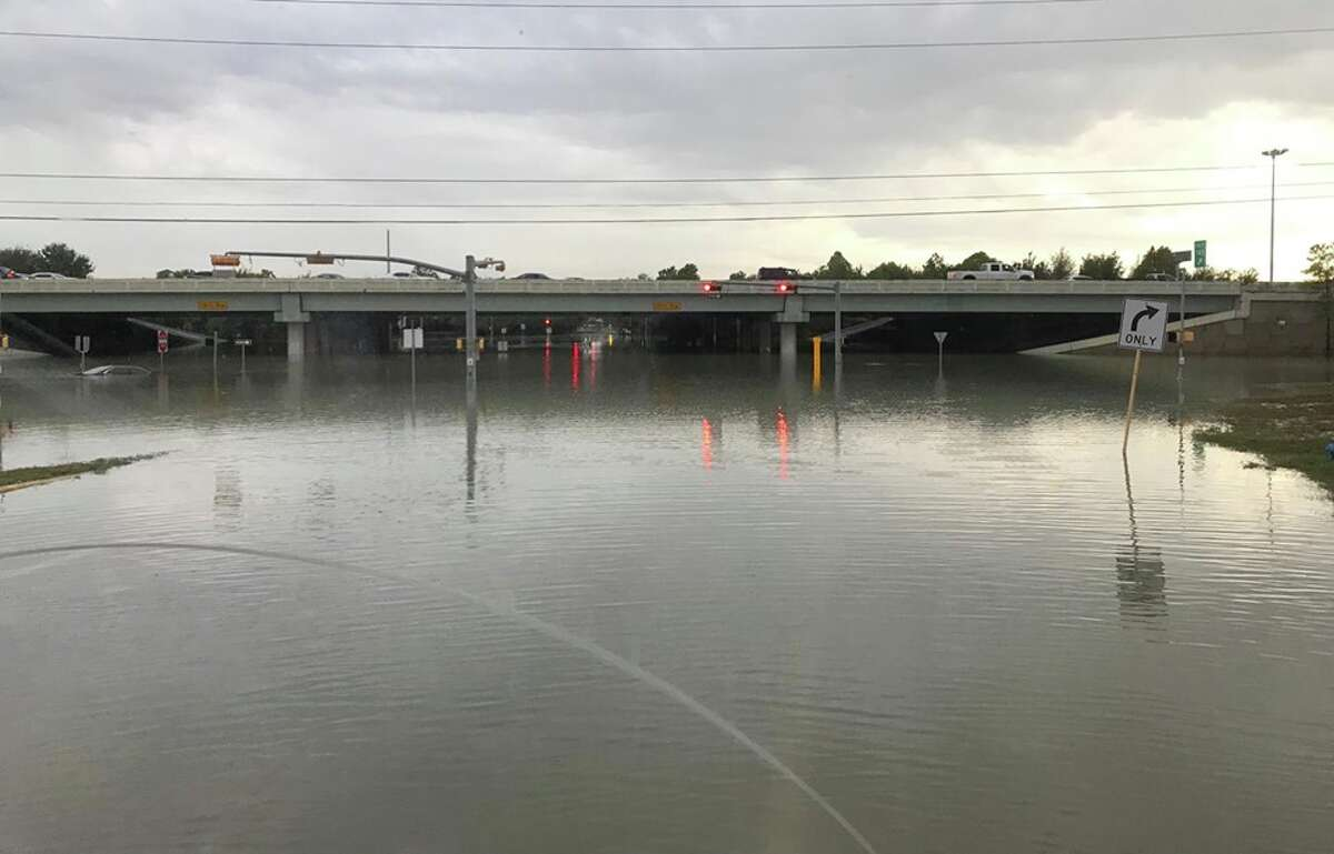 14.92 inches - north Harris County near Mount Houston Pictured: north Harris County
