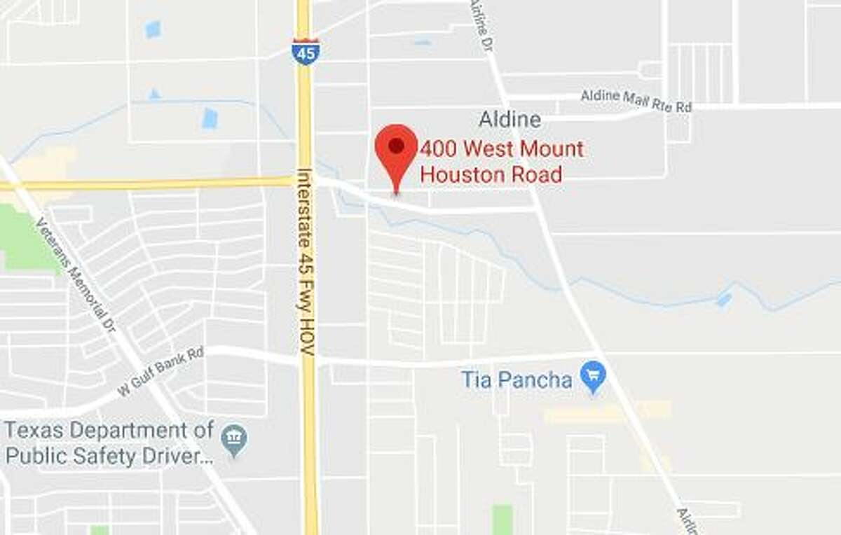 A man's body was discovered in a ditch in North Houston Friday, officials said.
