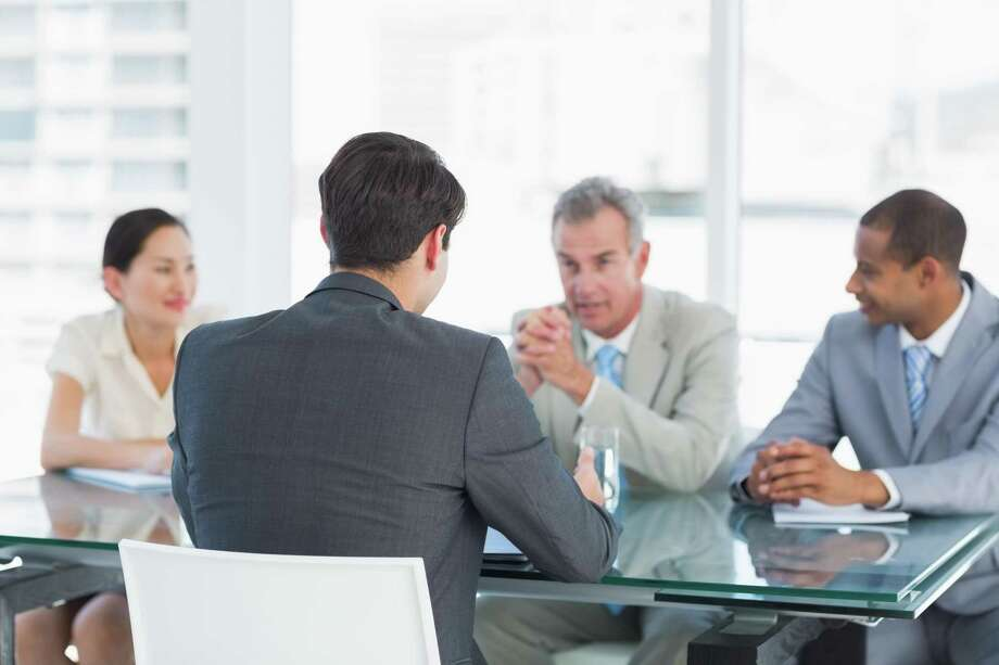 Often, decisions are made after two or three interviews. If you make a good impression, you are passed on to the next manager in the corporate hierarchy.
