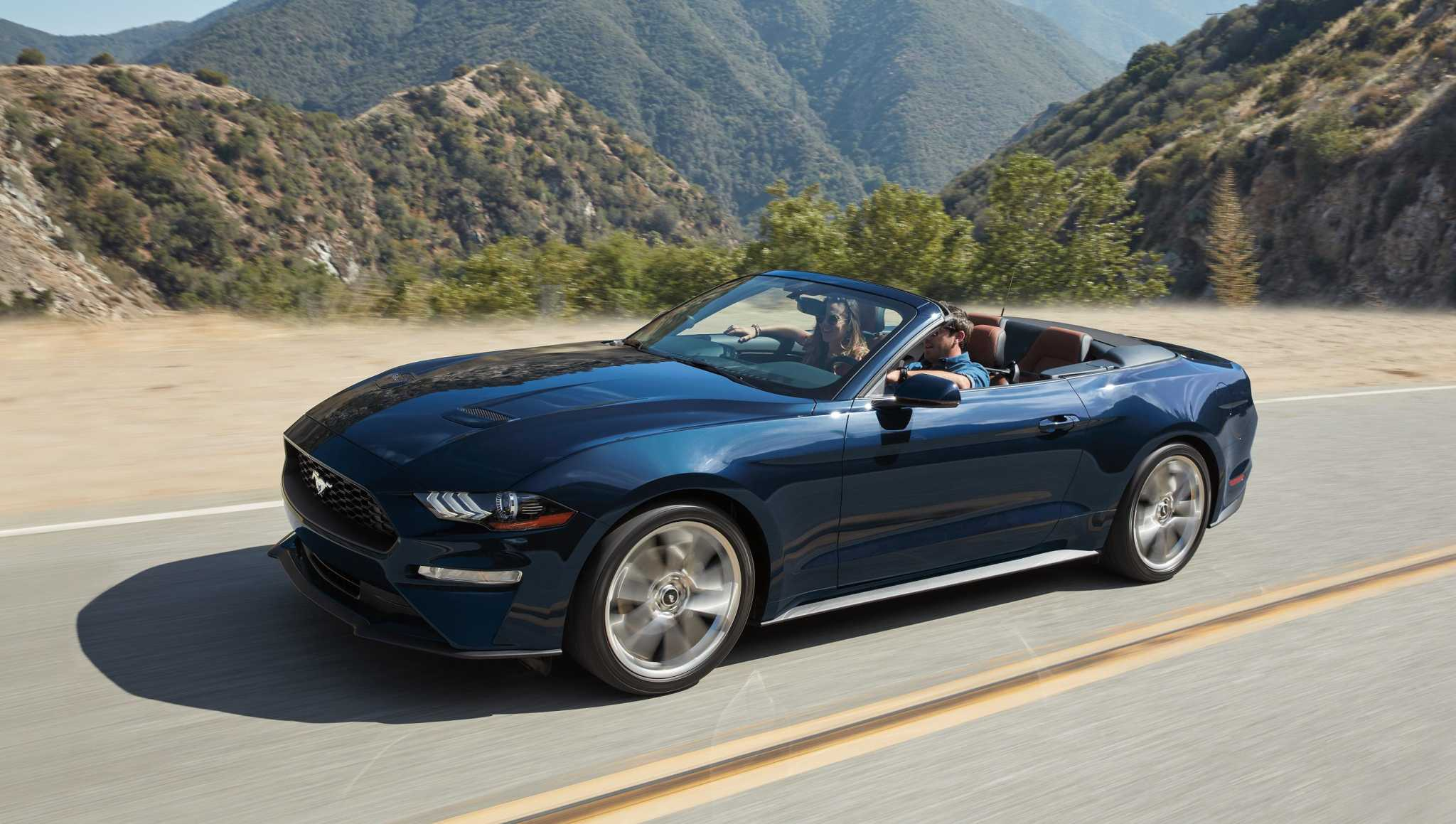 Mustang convertible: You'll giggle, too