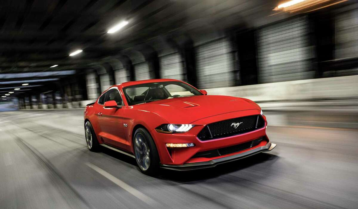 Ford's legendary 5.0-liter V-8 engine is powerful and revs higher than any Mustang GT before. A 10-speed automatic transmission is the best automatic Mustang has ever offered.