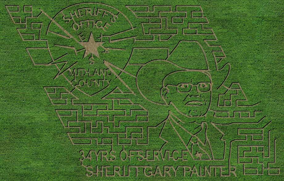 Fiddlesticks Farms will begin its 12th season on Saturday with a new maze design honoring the late Midland County Sheriff Gary Painter, who died in May.
