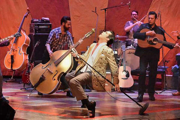 The Tony Award-winning hit musical Million Dollar Quartet was inspired by the famed recording session that brought together rock 'n' roll icons Elvis Presley, Johnny Cash, Jerry Lee Lewis and Carl Perkins for the first and only time.