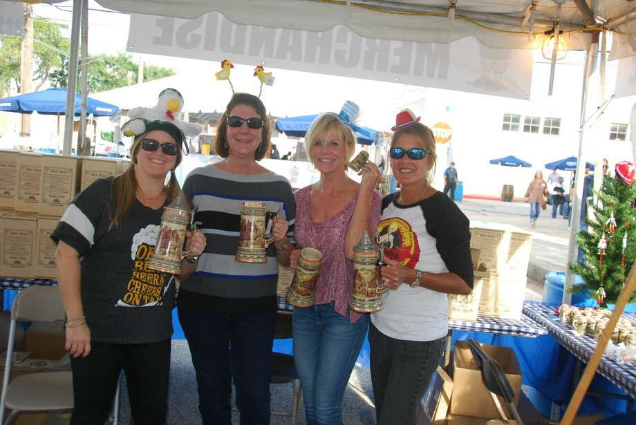 Island Oktoberfest kicks off Friday evening, Oct. 25, with continuous live entertainment on two stages and authentic German food and libations. Photo: Courtesy Of Robyn Bushong