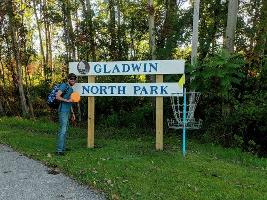 FILE — Avid disc golfer Chris Stronach proposed bringing disc golf to Gladwin's North Park. (Photos by Tereasa Nims/For the Daily News)