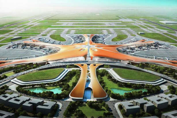 China will cut the ribbon on the big new Beijing Daxing Airport on September 30.