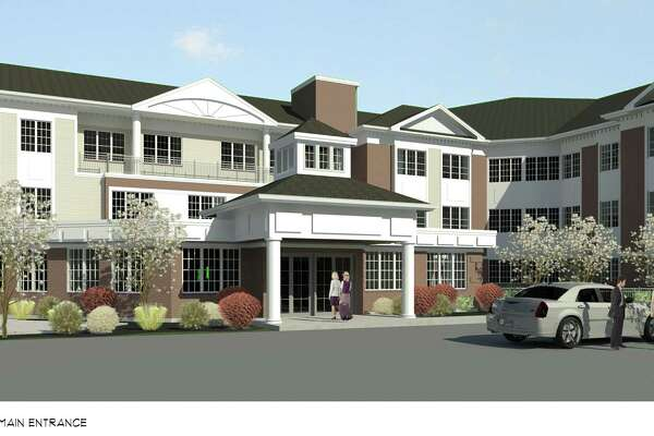 A rendering of Mary Wade Home's new facility planned for Clinton Avenue in New Haven.