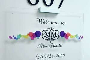 ¡Mira Medals!, owned by husband-wife duo Albert and Natasha Gonzales, is opening the business' first brick-and-mortar location at 10615 Perrin Beitel Rd. on Sept. 22.