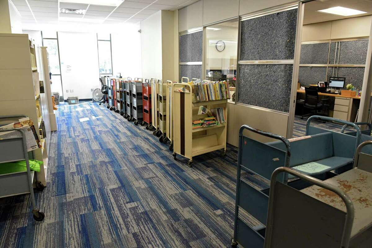 This room is one of the completed phase one renovations at the William K. Sanford Library on Friday, Sept. 20, 2019 in Colonie, N.Y. (Lori Van Buren/Times Union)