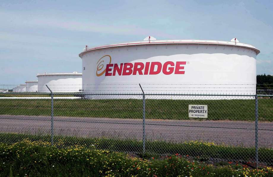 Canadian pipeline operator Enbridge has bought the Rio Bravo Pipeline project from Houston liquefied natural gas company NextDecade in a $25 million deal. Photo: Jim Mone, STF / Associated Press / Copyright 2019 The Associated Press. All rights reserved.
