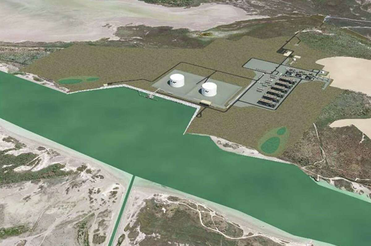 Annova LNG Renderings. A proposed LNG project at the Port of Brownsville.