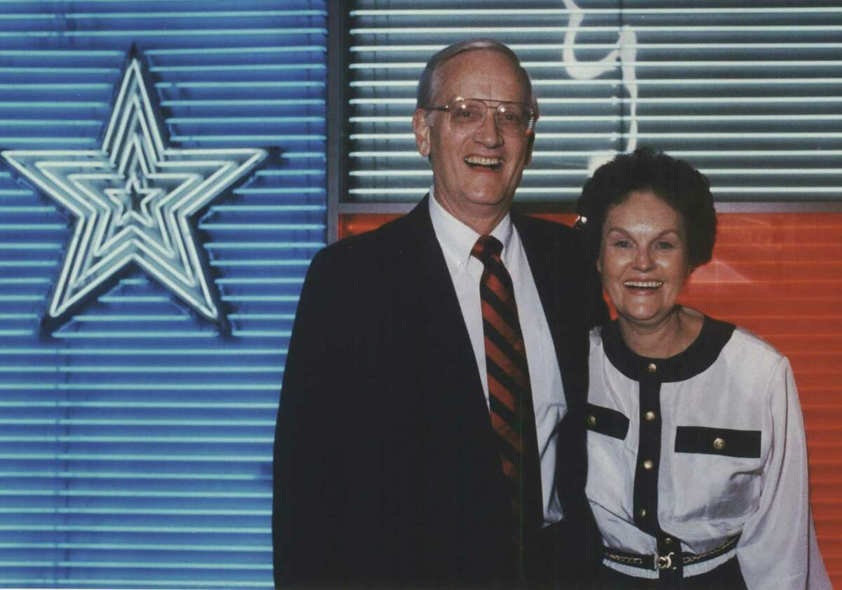 In this file photo, former FBI Director William Sessions is shown with his wife Alice. Sessions is seeking a divorce after more than 60 years of marriage.