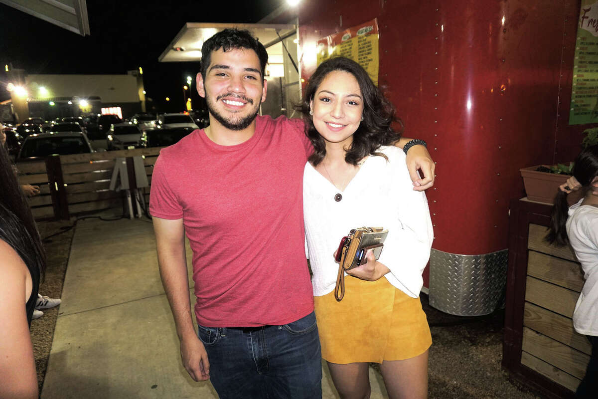 Evan Cadtro and Jewel Suarez at Golondrina Food Park
