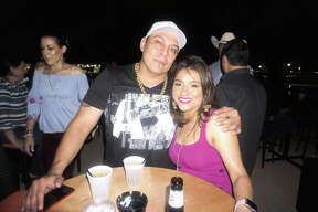 Hectoe Martinez and Adriana Castaneda at Rooftop Lounge Friday, September 13, 2019