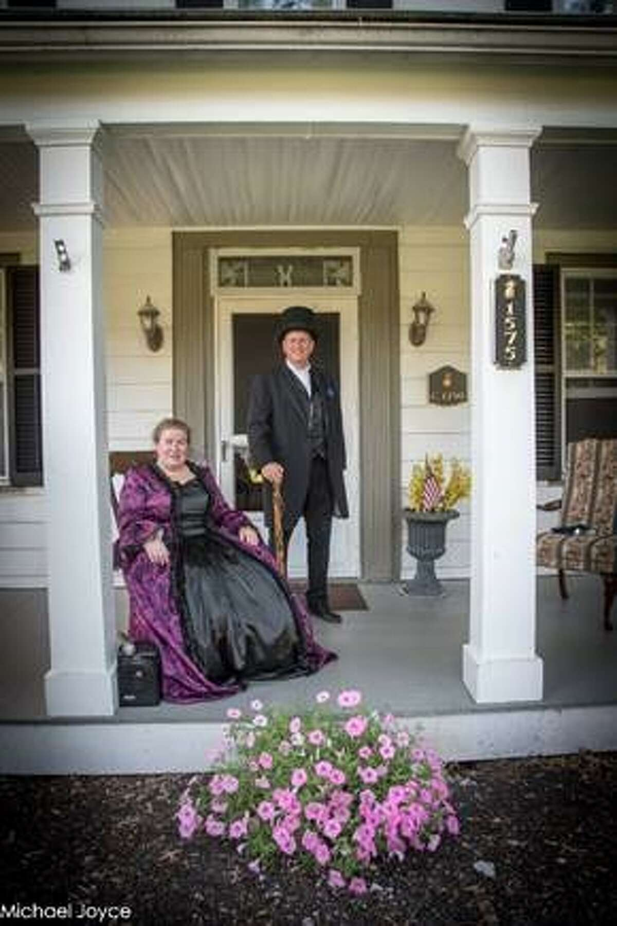 The Friends of the Slingerland Family Burial Vault present A Visit with Slingerlands' Founding Family on Sunday, Oct. 6. Participants will enjoy an afternoon walking tour of historic Slingerlands and experience first person presentations by costumed performers at locations along the tour route. (Photo provided)