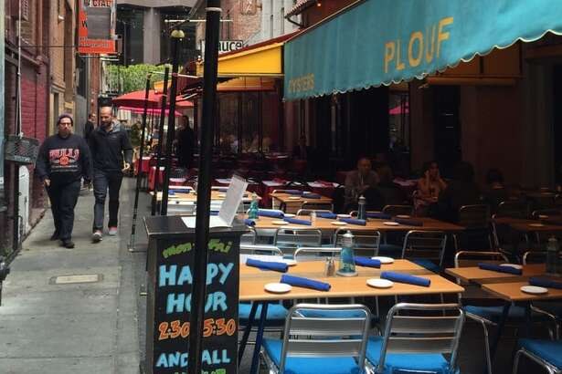 After 23 years, French bistro Plouf in Belden Place is closing.