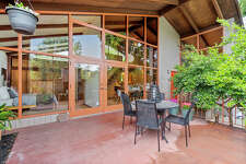 Mid-century perfect and $789,000 is this one-bedroom chalet-like home in Oakland
