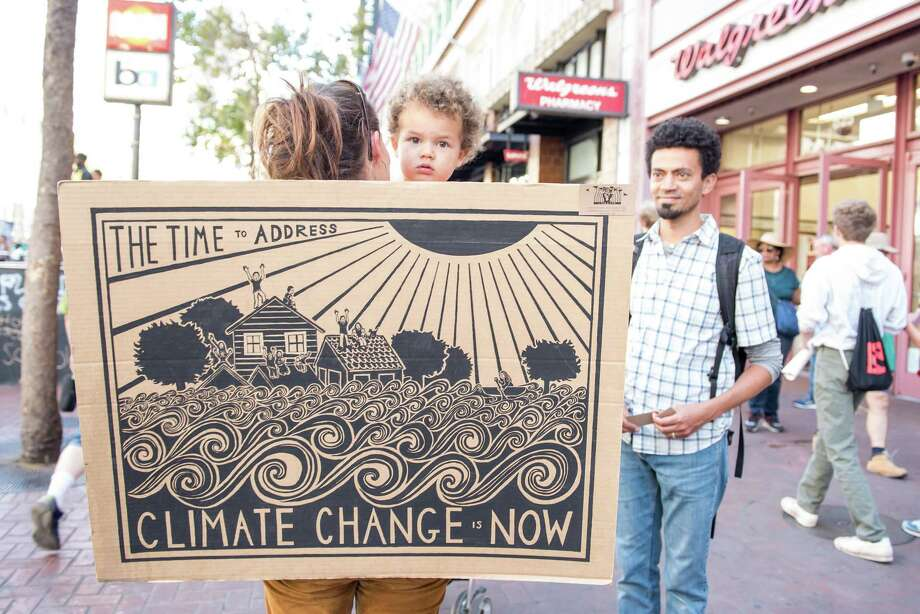 San Francisco Climate March. Friday, September 20, 2019 Photo: Blair Heagerty / SFGate