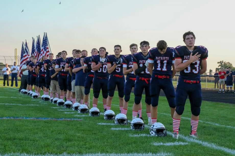 USA football hosted Bad Axe Friday, Sept. 20. Photo: Eric Young/Huron Daily Tribune