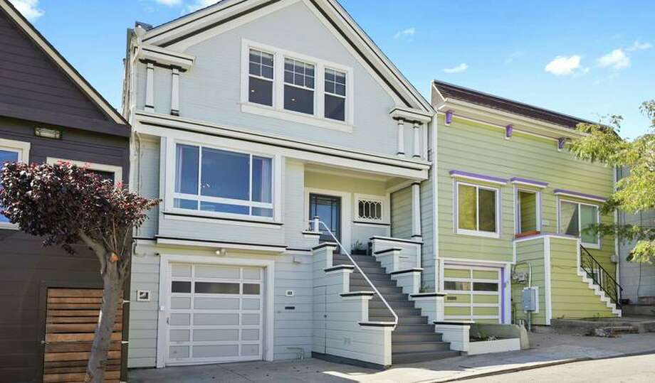 Trilevel Edwardian with bespoke finishes open Sunday in Bernal Heights