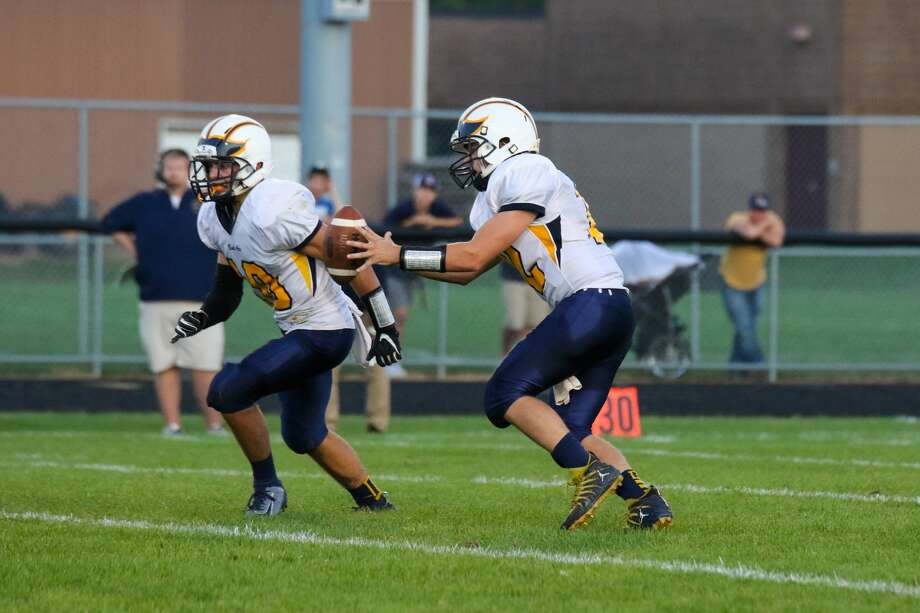The Bad Axe Hatchets routed host Reese 44-7 on Friday night. Photo: Eric Young/Huron Daily Tribune